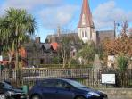 The heritage town of Kenmare - 1km away