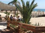 A nearby fresh fish restaurant on the nearby Meai Praia beach which is only a short walk away from t