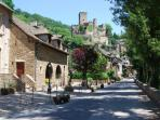 Conques, historic 'site de France'