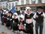 Breton Dancers at the local Festival