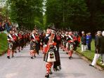 Atholl Highlanders at Blair Castle