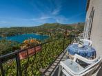 Balcony view on Zaton bay