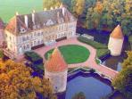 C18th Burgundy Chateau