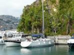 Boats in Marina Del Este