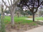 Local park 3 mins away
