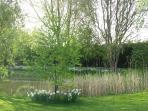Lakeside in April