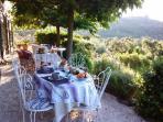 terrasse petits dejeuners