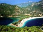 General area photo - Olundeniz beach looking towards Fethiye