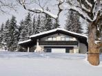Country House Blaubeer in Winter