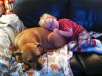 Bailey and Grandson Jones