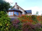 Glorious natural colours surround the house all year round