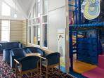 Indoor & outdoor children's play areas