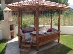 Rosa kosk - most villas in Dalyan have a kosk - somewhere to laze out of the sun