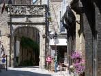 Dinan historic centre
