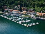 villa navalia overlooking marina