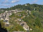 View of Najac from the Castle ramparts