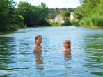 A safe place for children to swim,