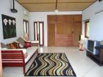 Salon Master bedroom avec 1 couchage