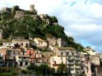 Forza d'Agrò, Dorf und Burg — Forza d'Agrò, town and castle