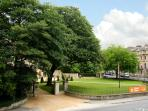 View of The Holburne Museum of Art and gardens.