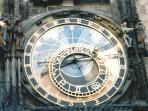 Astronomical clock in Old Town Square, just a few minutes walk