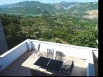 Panoramic terrace with BBQ facilities