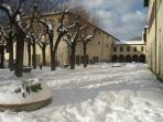 Snow 2010 -  Beside of Seat of Parco Nazionale