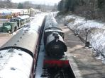 Steam train at Boat of Garten