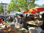 Market at Place Carnot