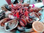 minutes away - Torinino's fabulous seafood restaurant