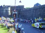 Tour de France comes to town(Navarrenx)