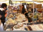 Local market Sundays and Wednesdays