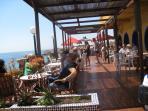 Nautilus Restaurant facing the sea