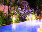 Night in the Swimmimg Pool
