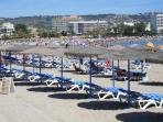 Enjoy the sandy beach at Javea,
