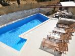 Private swimming pool  - Villa Zonti