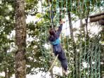 Have fun in the trees at the Adventure Parc
