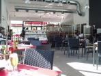 Restaurant inside the Club House