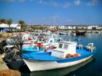 Fishing boats in Ayia Napa Harbour
