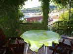 terrace, sea view, shade