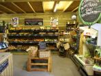 Our local farm shop, Ullacombe. Do you dare take on the Big Barn Breakfast?