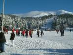Skiing in the Massif Centrale - about 90 minutes away