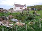 Interest everywhere you look at Clachtoll cottage.