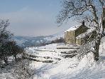 Edge Farm in the snow