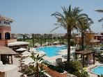 Social Club and pools on The Mar Menor Golf Resort