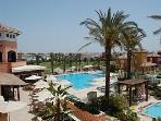 Social Club and pools on The Mar Menor Golf Resort