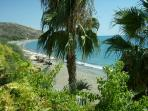A View Of Pissouri Bay/Beach