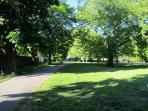 The beautiful recreational Beaumont Park, which is just opposite the house