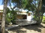 terrasse du bungalow Tamarin