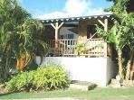 bungalow carambole vue du jardin